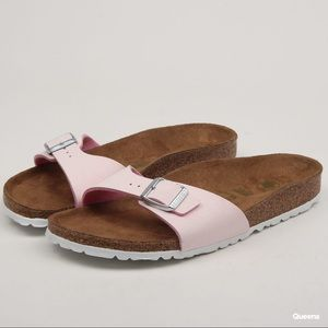 Birkenstock Madrid Rose Pink Slip ones sandals